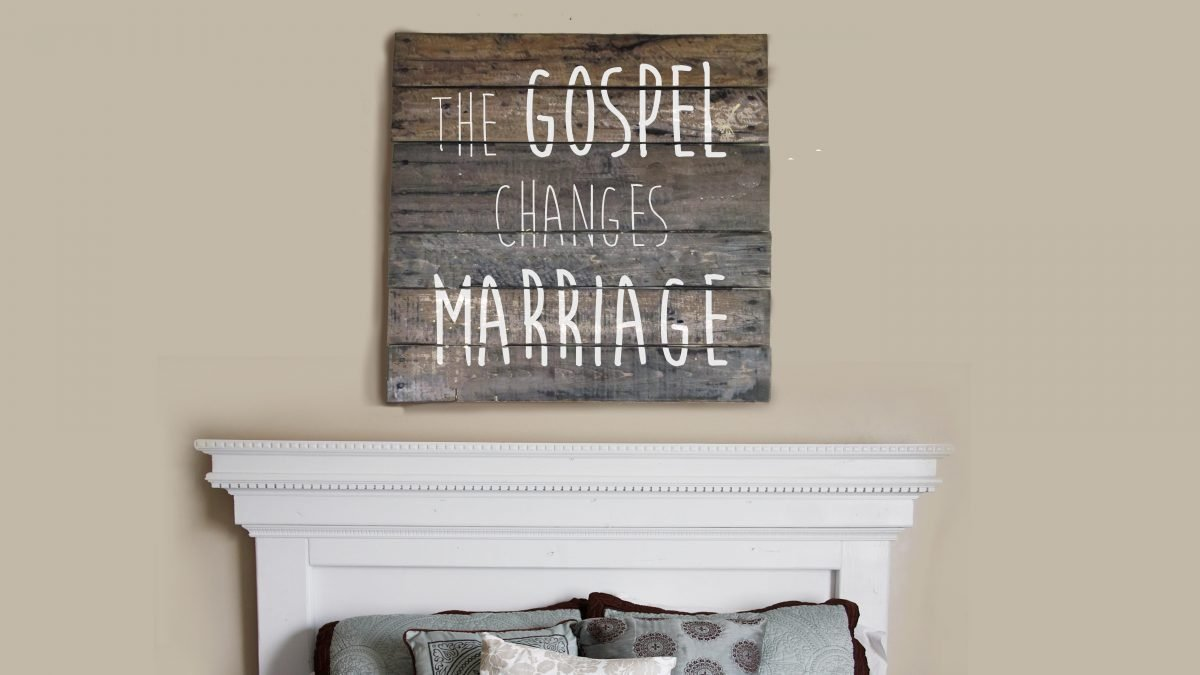 The Gospel Makes Marriage Relationships Healthy